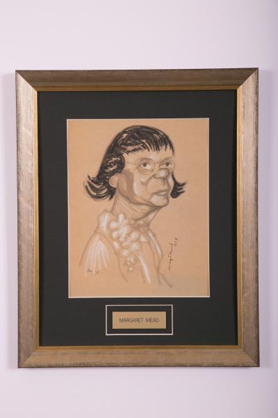 Caricature- Margaret Mead