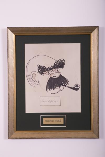 Caricature- Rudyard Kipling