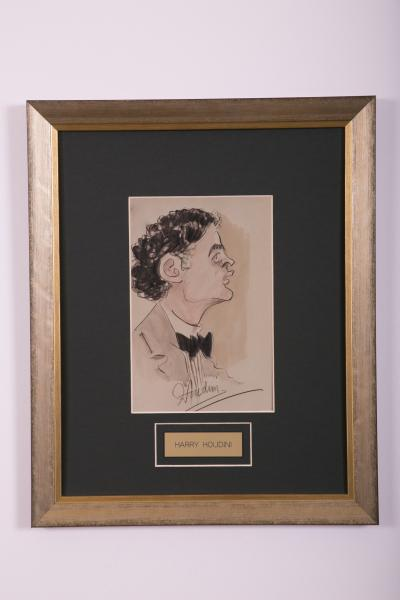 Caricature- Harry Houdini