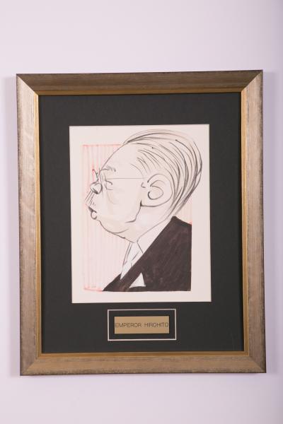 Caricature- Emperor Hirohito