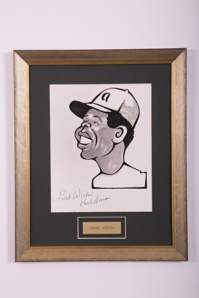 Caricature- Hank Aaron