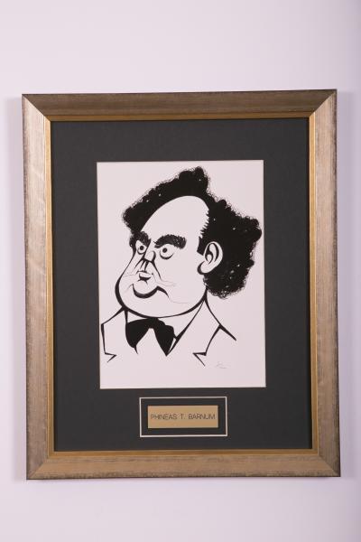 Caricature- Phineas T. Barnum