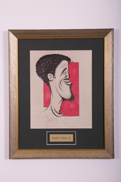 Caricature- Sammy Davis Jr.