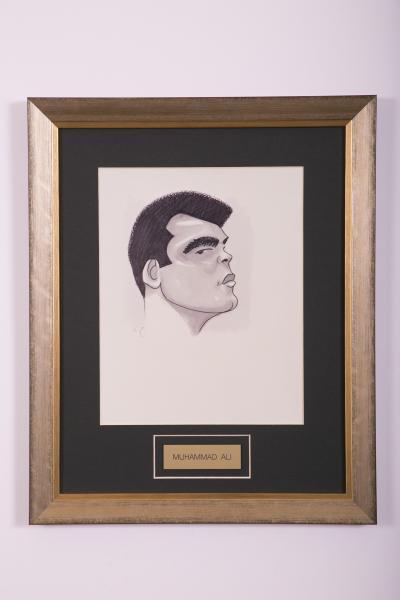 Caricature- Muhammad Ali