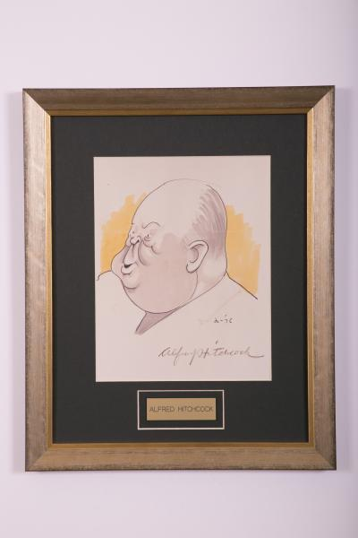 Caricature- Alfred Hitchcock