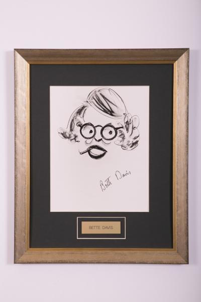 Caricature- Bette Davis