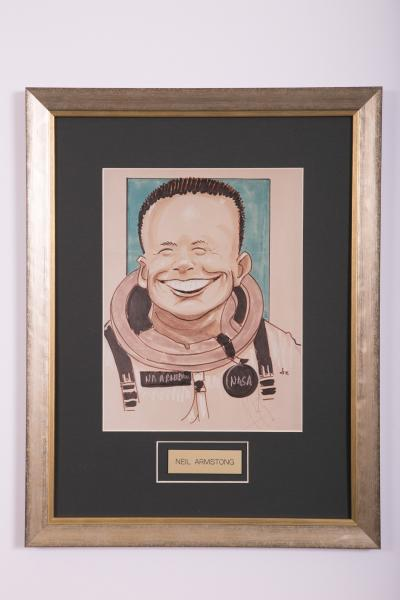 Caricature- Neil Armstrong