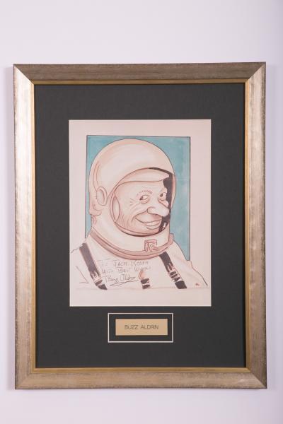 Caricature- Buzz Aldrin