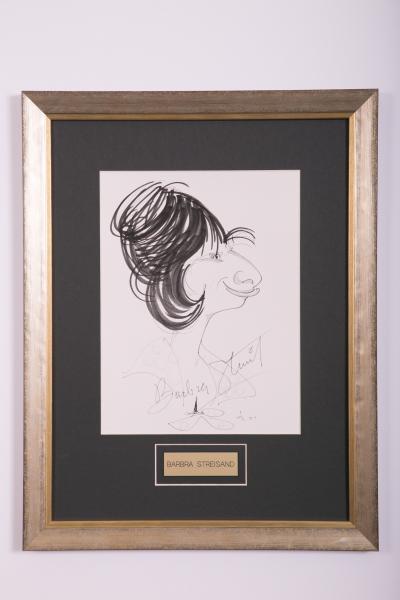 Caricature- Barbra Streisand