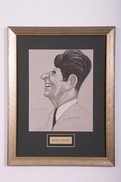 Caricature -- Ronald Reagan
