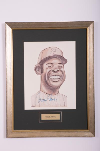 Caricature- Willie Mays