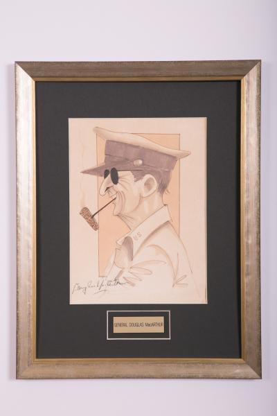 Caricature- General Douglas MacArthur