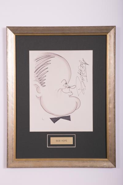 Caricature- Bob Hope
