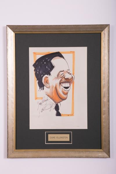 Caricature- Duke Ellington
