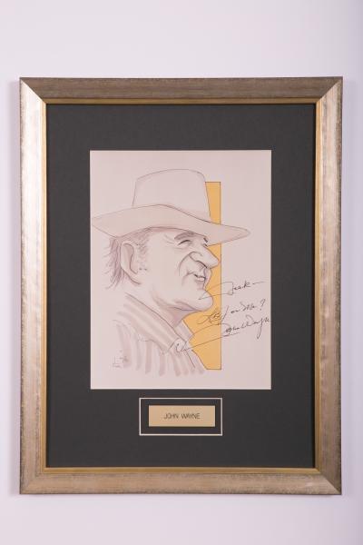 Caricature- John Wayne