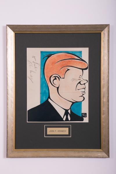 Caricature- John F. Kennedy