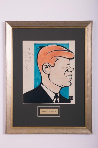 Caricature- John F. Kennedy