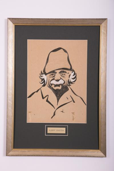 Caricature- Albert Einstein