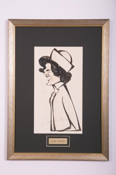 Caricature- Jackie Kennedy