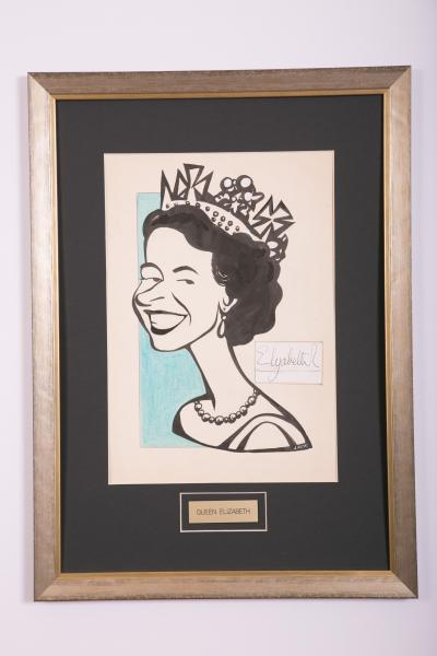 Caricature- Queen Elizabeth