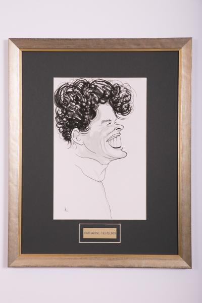 Caricature- Katharine Hepburn