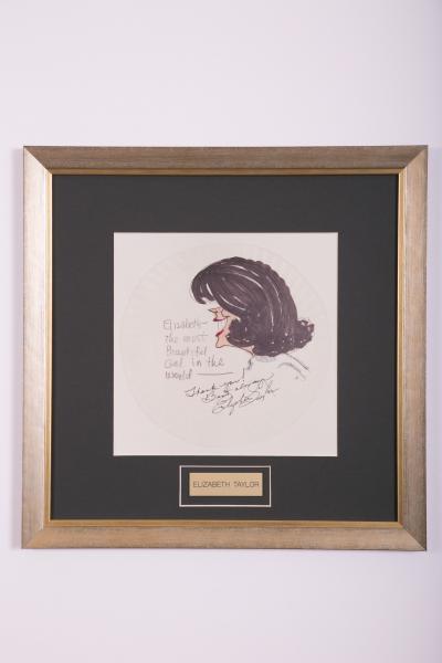 Caricature- Elizabeth Taylor