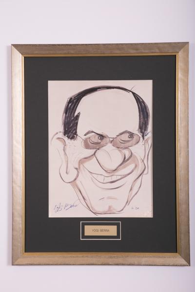 Caricature- Yogi Berra