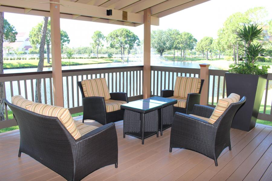 Pavilion Lounge Area