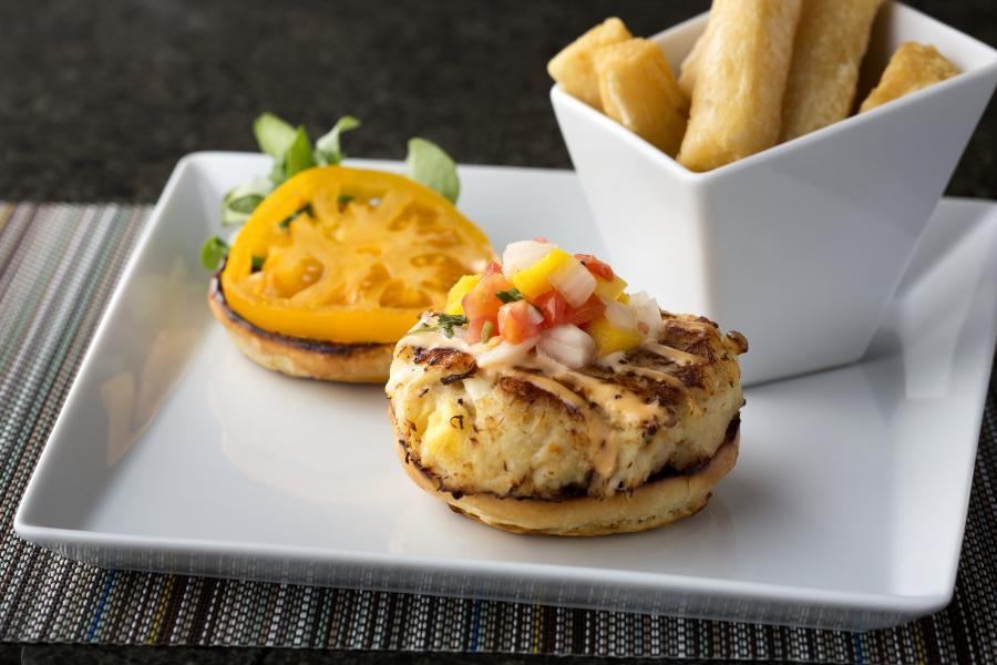 Harry's Poolside Bar and Grill Crab Cake