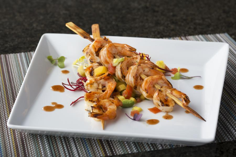 Harry's Poolside Bar and Grill Shrimp Pinchos