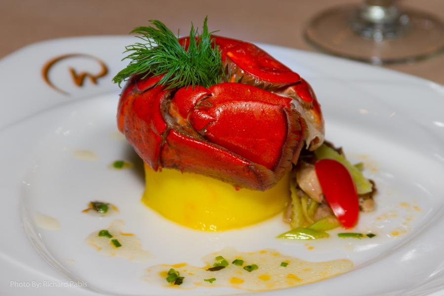 Everglades Olive Oil Poached Lobster