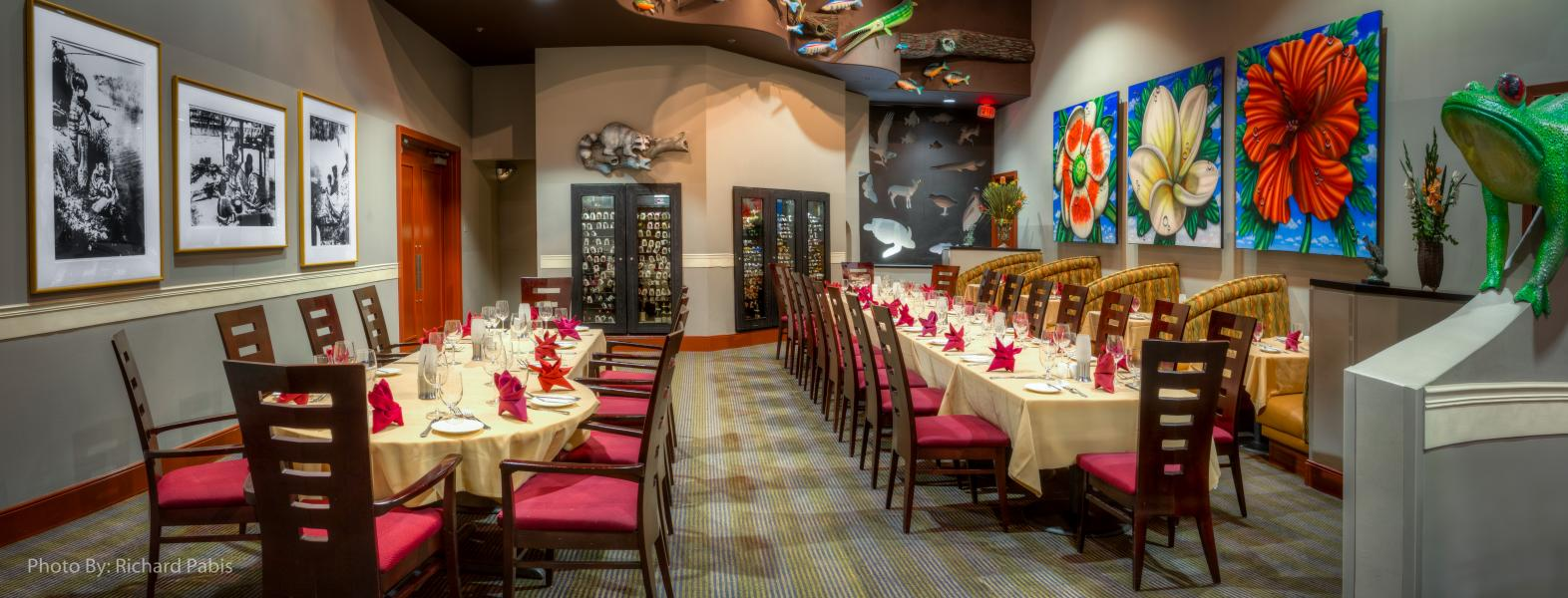 Everglades Restaurant - semi-private group dining