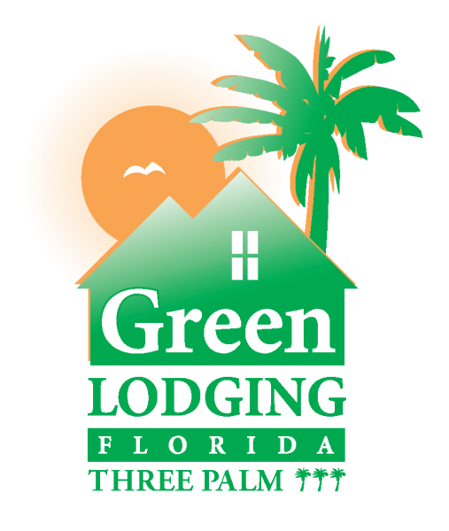 Green Lodging 3 Palm Logo