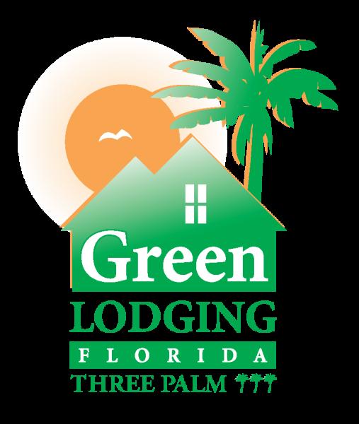 Green Lodging 3 Palm Logo