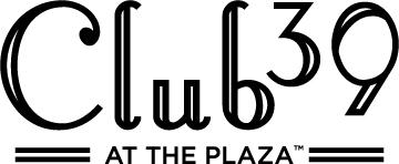 Club 39 at the Plaza logo (black)