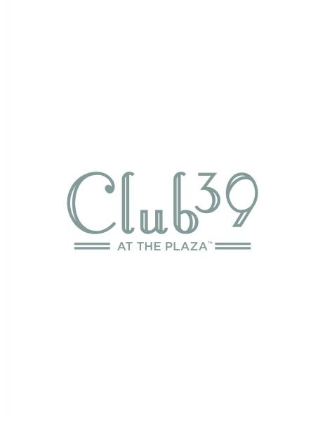 Club 39 at the Plaza logo (silver)