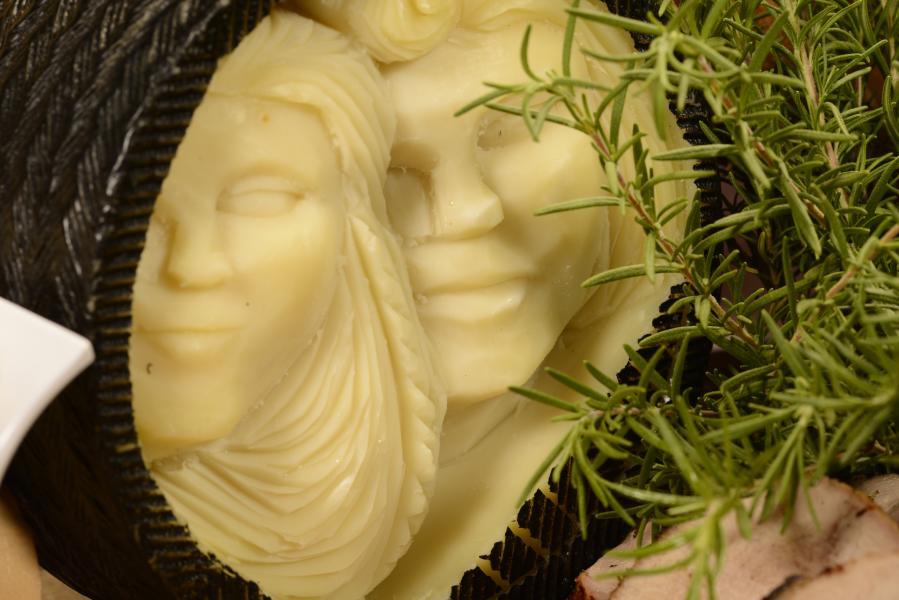 Cafe Osceola - Cheese Sculpture