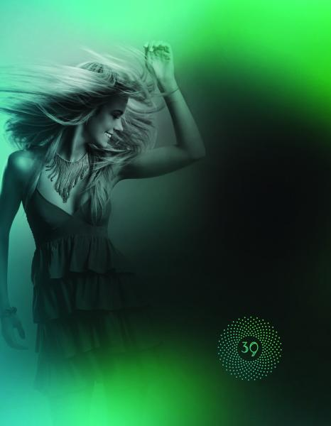 Club 39 Brand Image - Green Girl