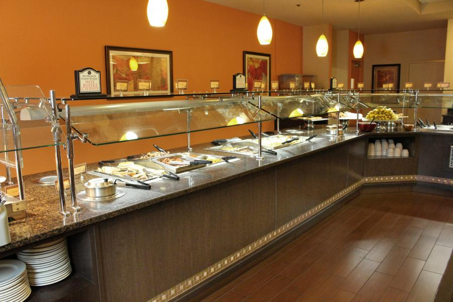 Fountainview Restaurant buffet