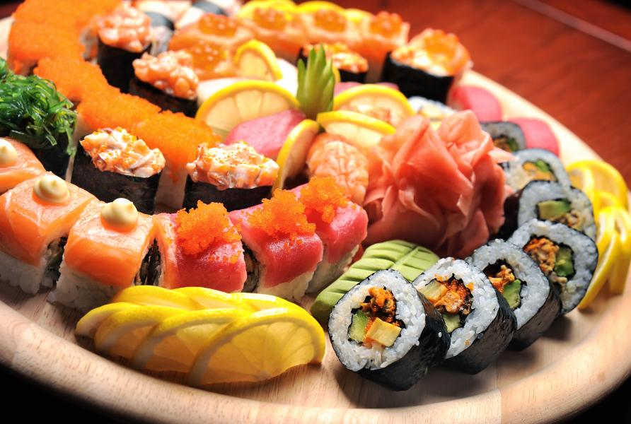 Zayde's Kosher Kitchen can cater events with sushi delicacies and more.