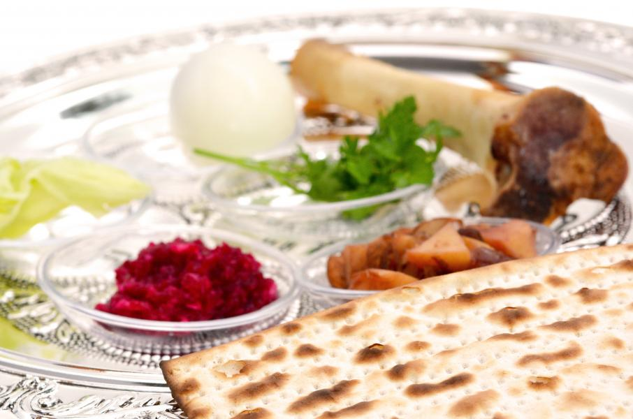 Kosher Kitchen Stock Photo - Seder Meal