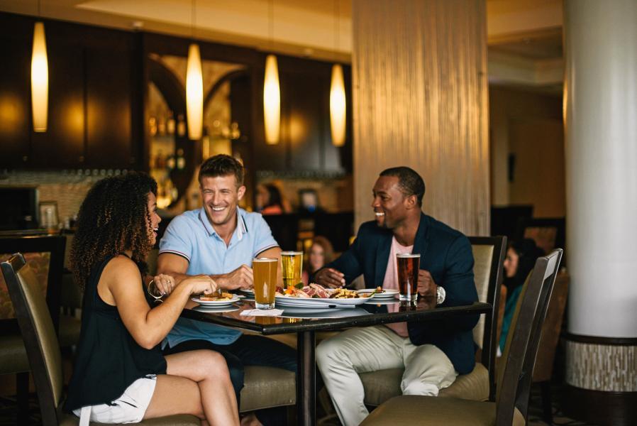 Plaza Photoshoot - Lobby Bar