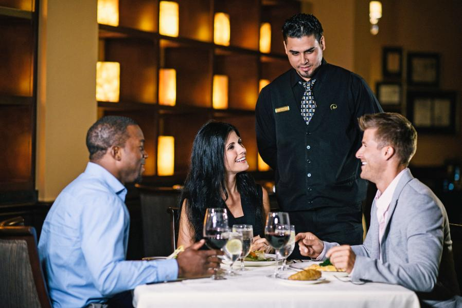 Guests of Jack's Place enjoy intimate dining and Rosen's exemplary customer service.