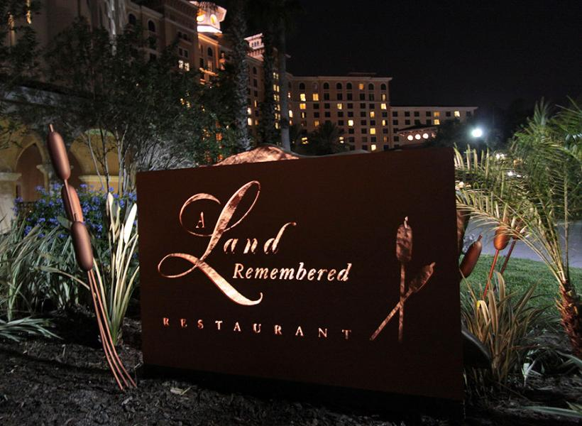 Um Restaurante Land Remembered