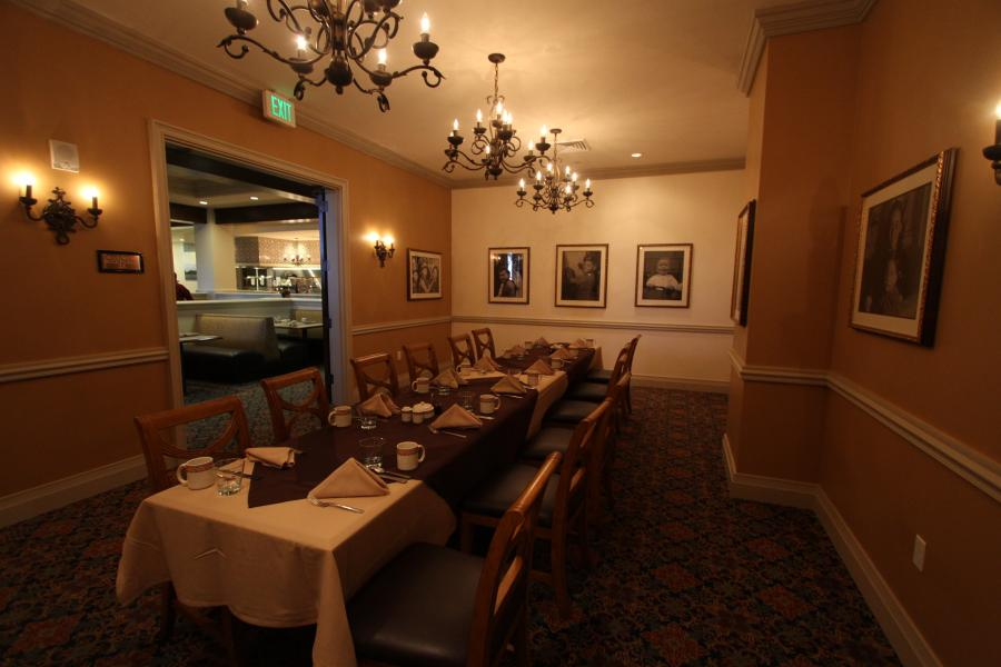 Cafe Osceola - Private Dining Room