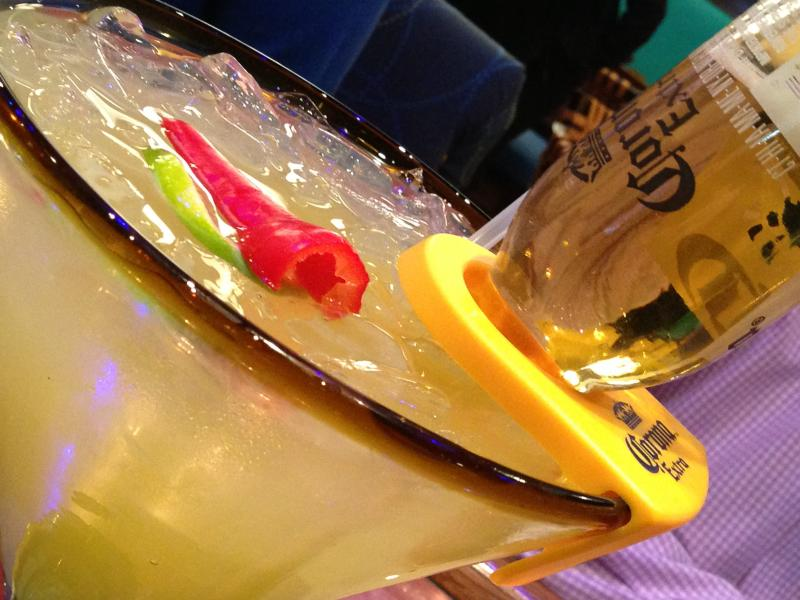 Mi Casa Tequila Taqueria- El Jefe Margarita