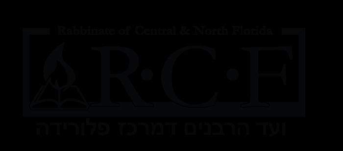RCF - Rabbinate of Central Florida Logo (Zayde's Kosher Kitchen)