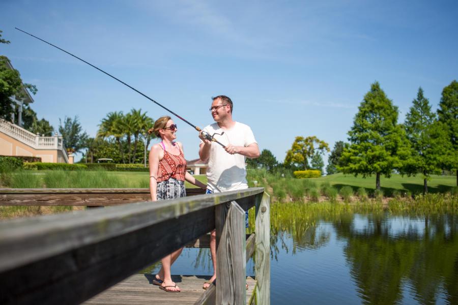 Fishing Dock- Rosen Shingle Creek