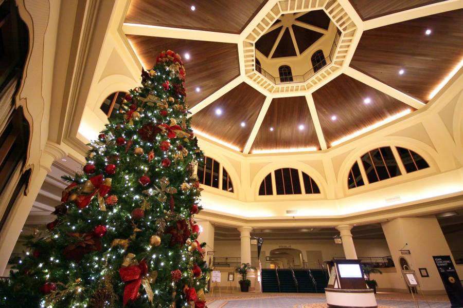 Rotunda at Christmas