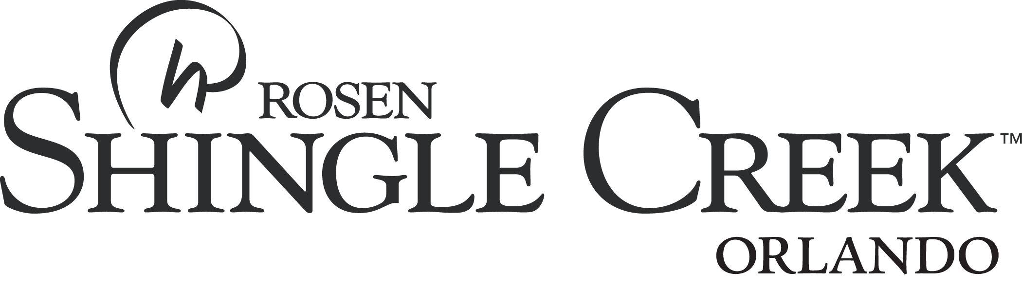 Rosen Shingle Creek Orlando Logo (Black) PNG